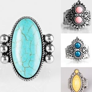 RINGS - Set of 4. New!